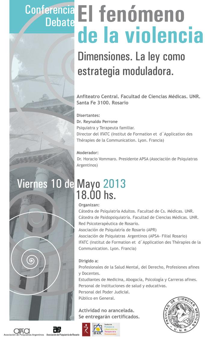 Conferencia debate: El fenómeno de la violencia